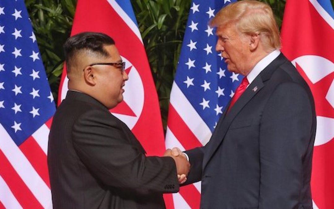 A Good Start: President Trump & Kim Jung Un Sign Historic Joint Statement