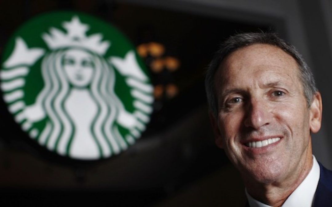 Leftist Starbucks Founder Says Democrats Have Gone 'Too Far Left'