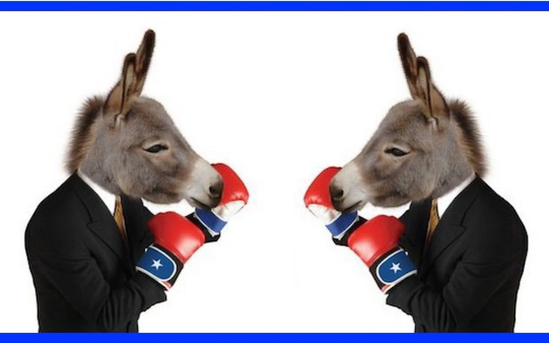 IT'S WAR! The Democratic Party Is Now A House Divided Against Itself