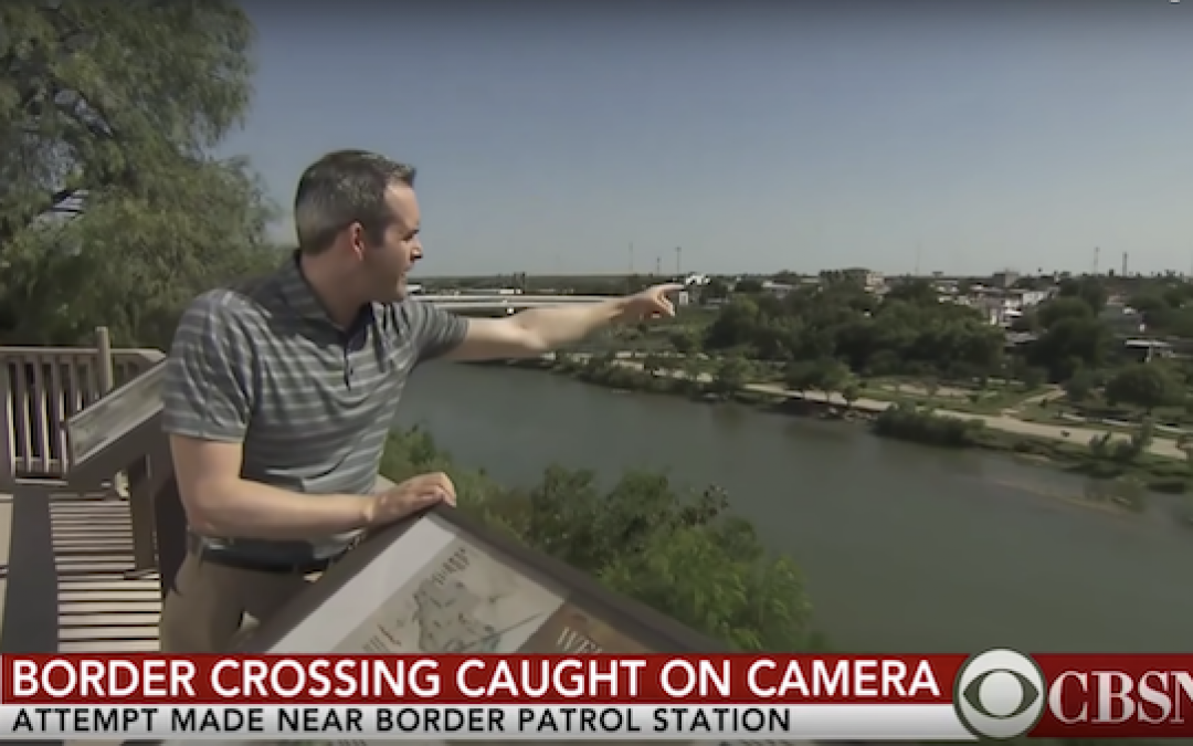 CBS Reporter Goes To Border, Sees Illegal Immigration Really Is A Problem
