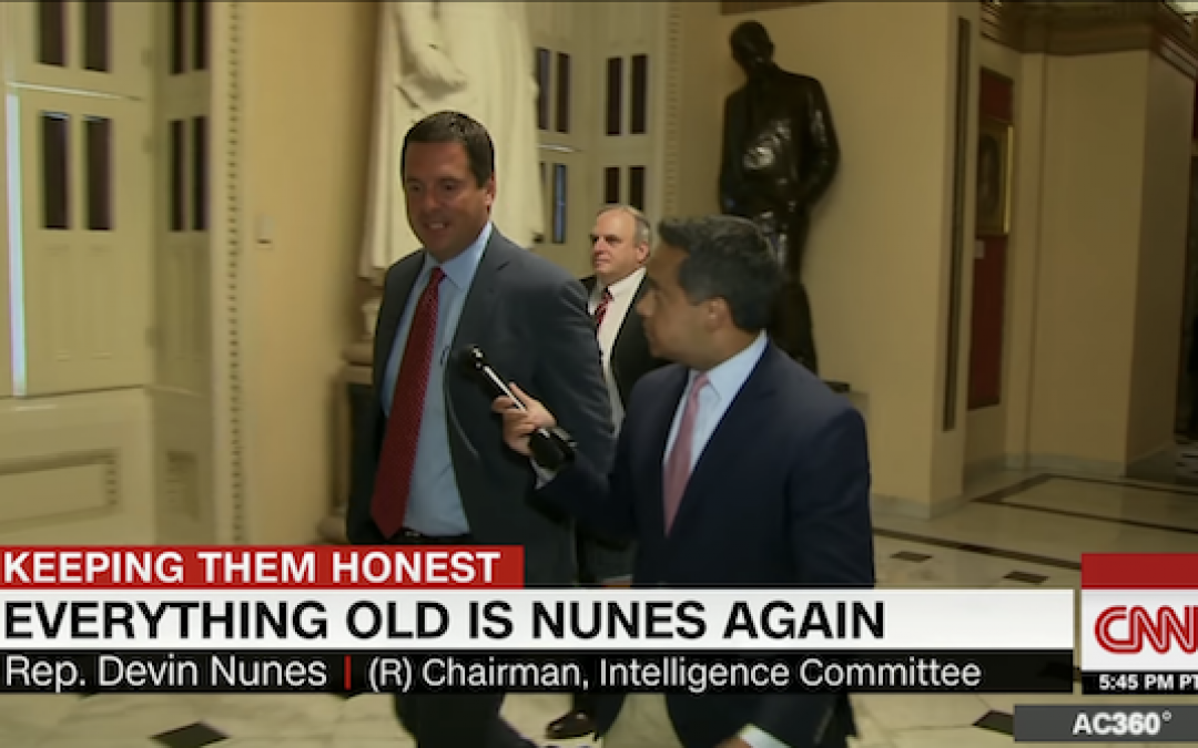 Devin Nunes Slams CNN as 'Democratic Party Propaganda'