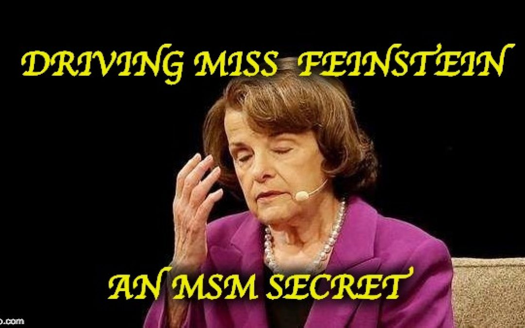 Why Is The Mainstream Media Protecting Dianne Feinstein?