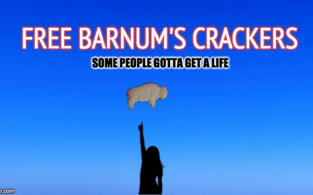 Free The Barnum Animals Crackers!  (Some People Have To Get A Life )