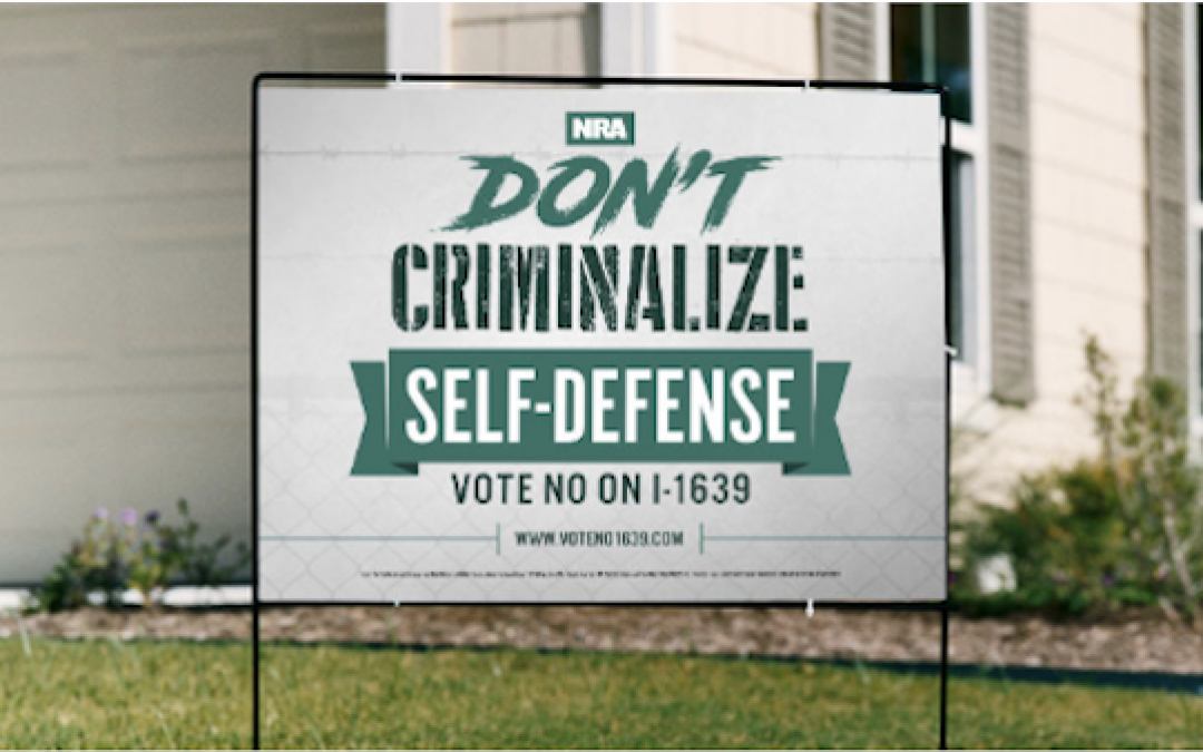 NRA's Classic Do-It-Yourself Grassroots Effort To Beat Anti-Gun Initiative