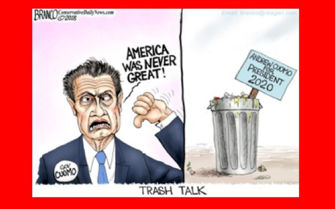 1 in 5 Democrats Agree W/ Cuomo: America Was Never Great
