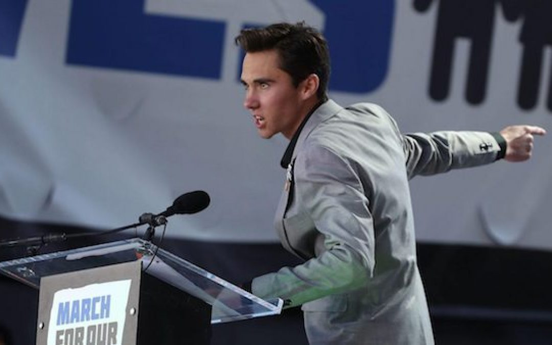 David Hogg's Demands Pelosi: 'Move The F*** Off The Plate And Let Us Take Control'