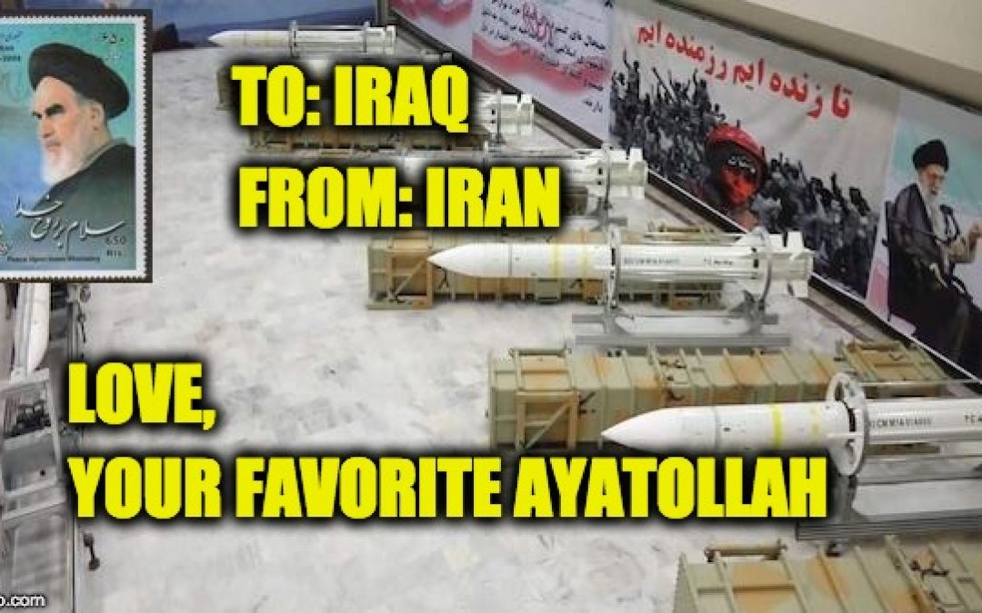 Iran Moving Ballistic Missiles Into Iraq, As Predicted