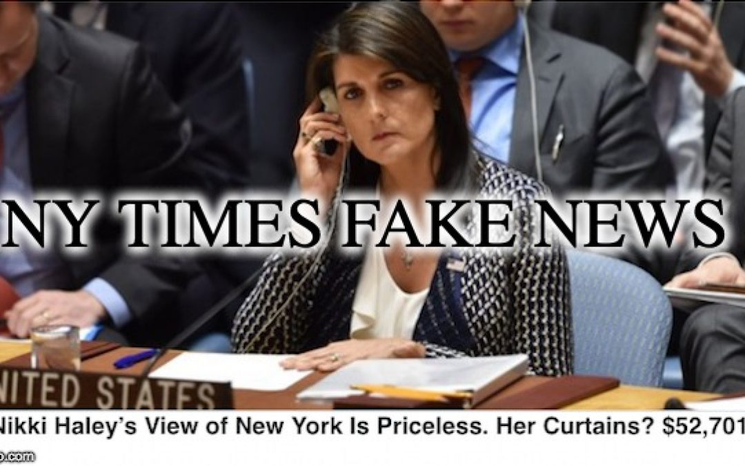 Jake Tapper Exposes NY Times Hit Job On Nikki Haley