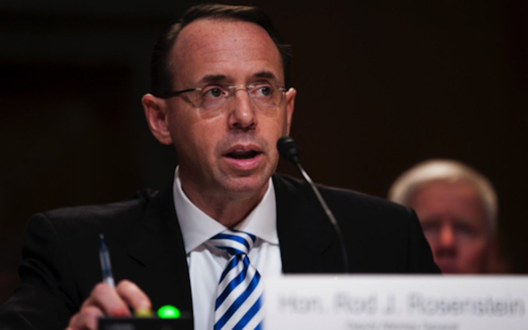 Rod Rosenstein: He Ain't Dead Yet