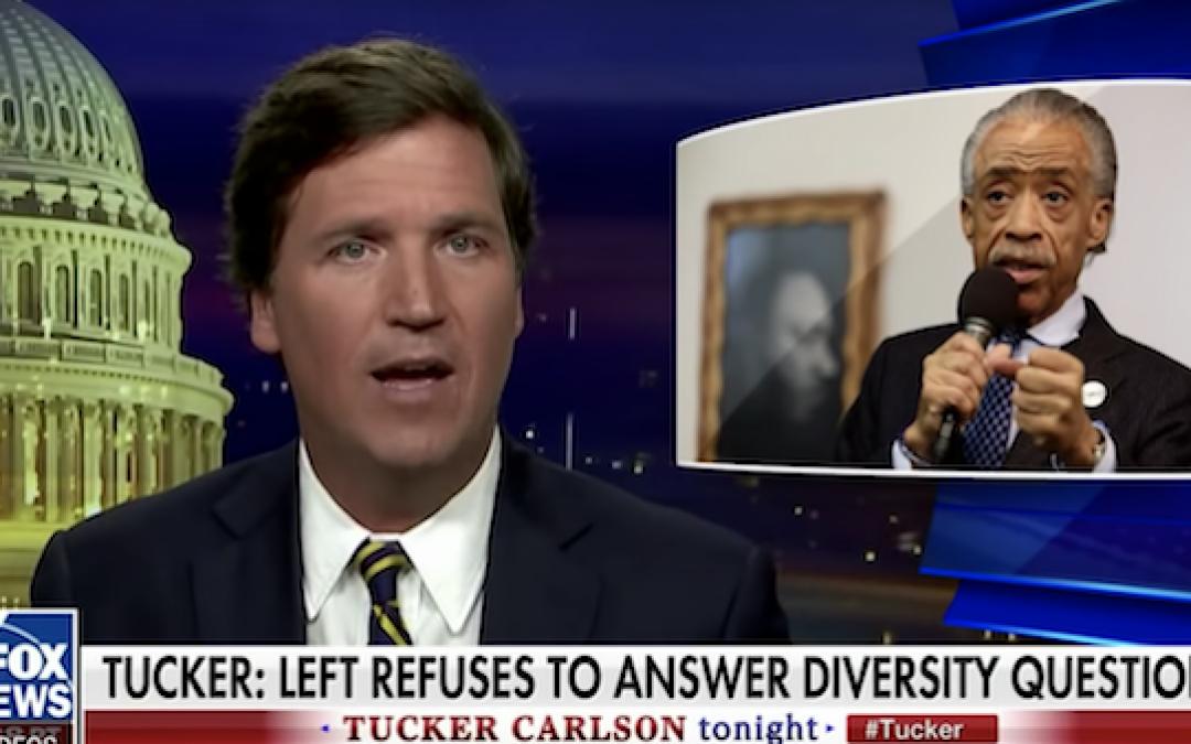Tucker Carlson Repels Left-Wing 'Racist' Slander