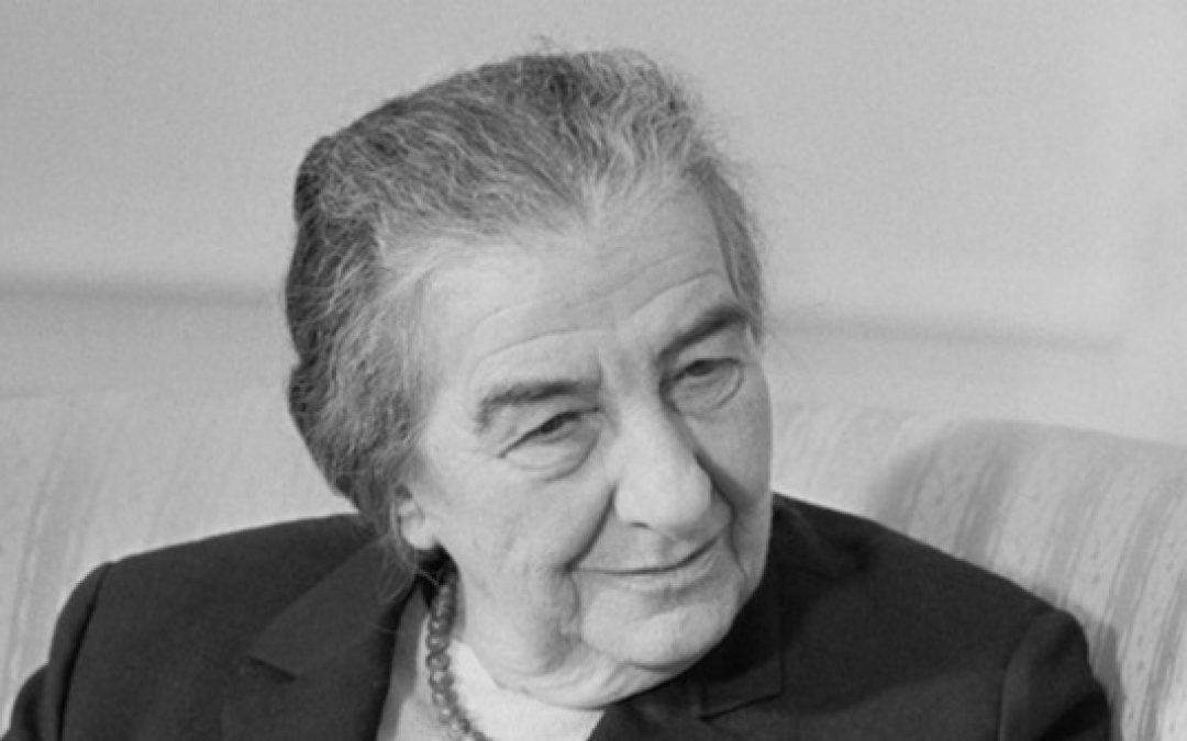 When Golda Meir Taught Europe's Leaders They Need Brass Balls To Fight Terror
