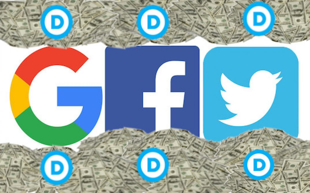 93% of Google, Facebook, Twitter Staff's Midterm Donations Went To  Democrats