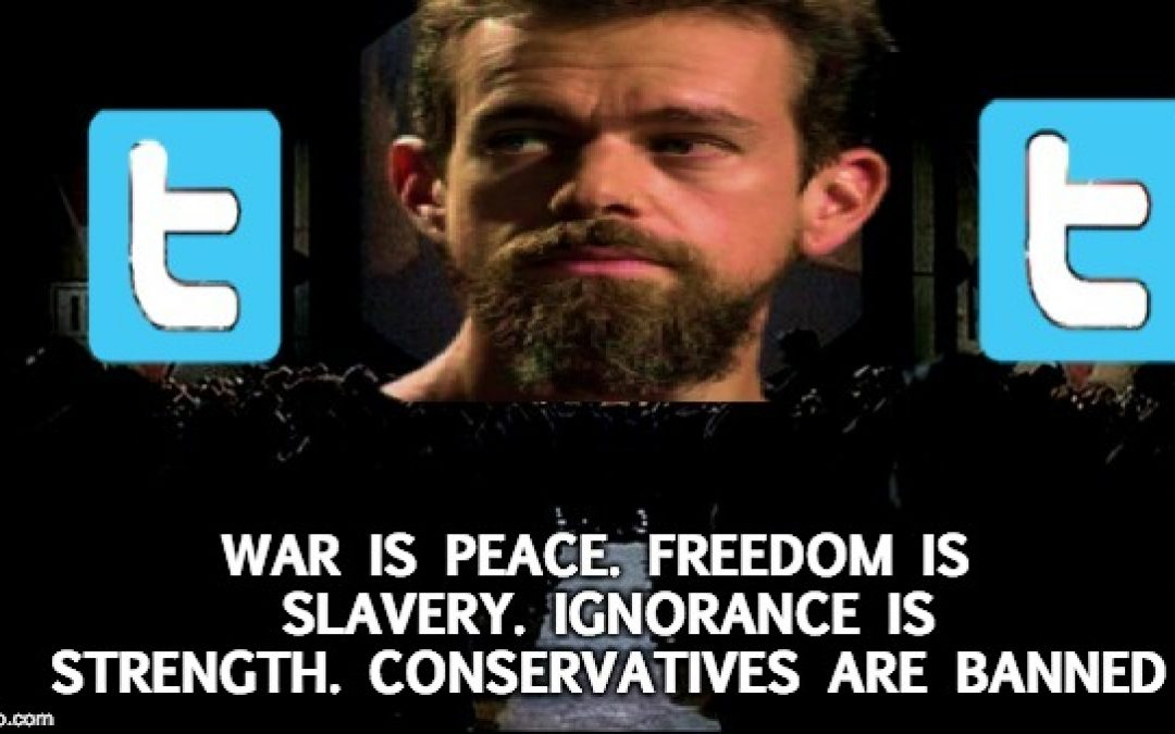 @Censorship: Twitter Bans 10 Conservatives Accounts; Won't Give Reason Why