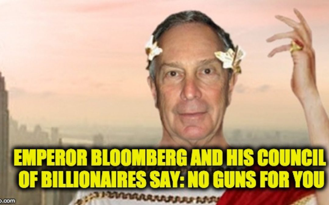 Billionaires Promoting Anti-Gun Wash. Vote As Another Newspaper Says 'No'