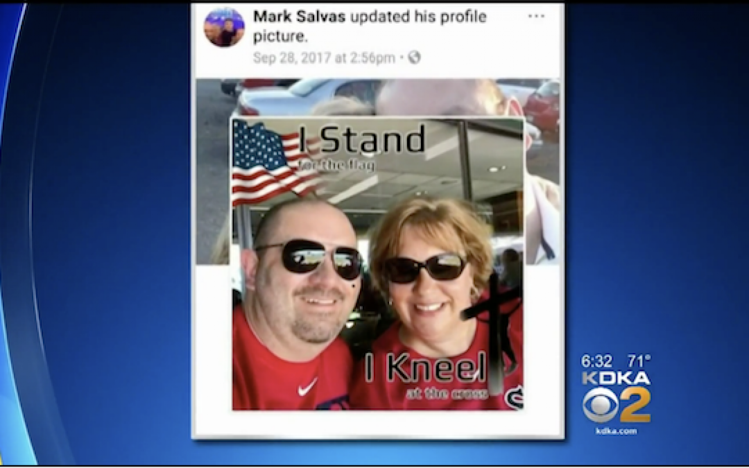 County Dem Leader Forced To Resign For Posts Defending Cop And US Flag