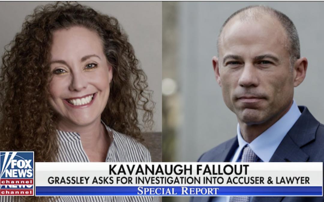 NBC News Sat On News Kavanaugh Accuser Was Lying, Until NOW