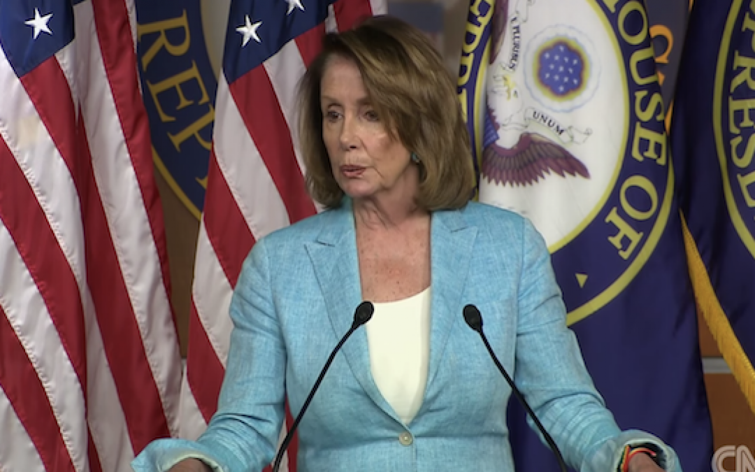 Pelosi Blames Trump For Bombs, But Was Appalled When Democrats Were Blamed For Scalise Shooting