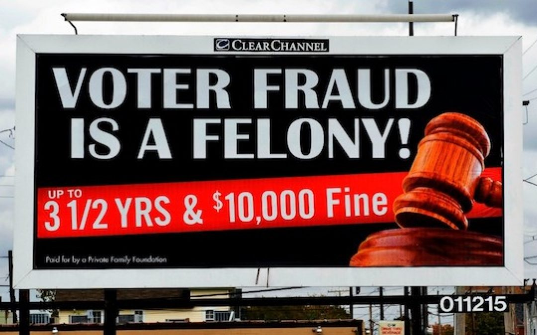 Voter Fraud Anyone? U.S. Has 3.5 Million MORE Registered Voters Than Eligible Adults