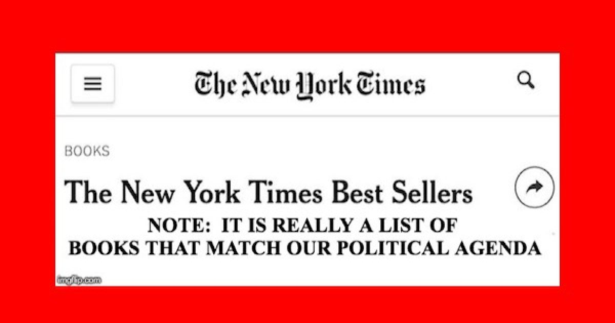 NY Times Bestseller List