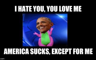 Obama Still Hates Americans