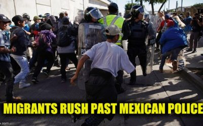 Migrants Who Rushed U.S. Border Getting Booted Back Home By Mexico
