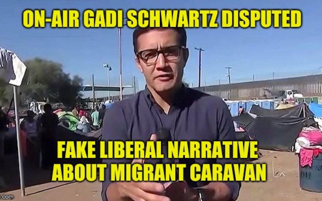 MSNBC Reporter Refutes Fake Liberal Media Caravan Narrative Live On-Air