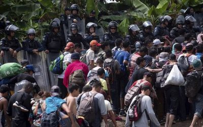 Second Caravan Reaches Mexico — And They're Armed