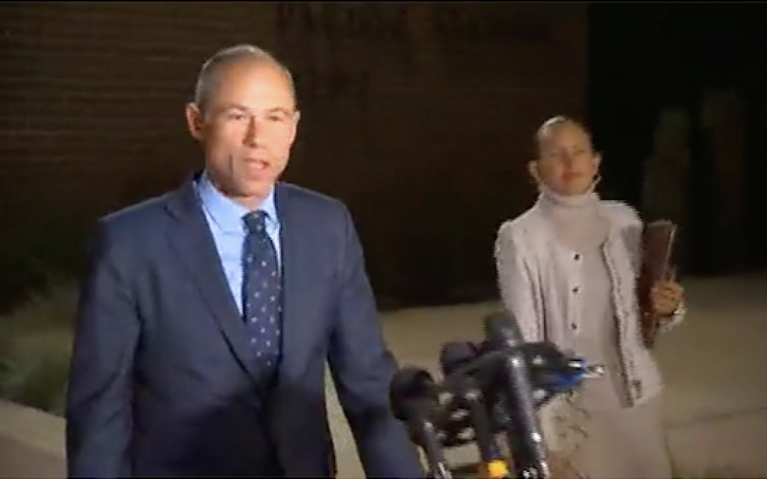 Avenatti Arrested: Suspicion of Felony Domestic Violence, Includes Leaving Jail Video