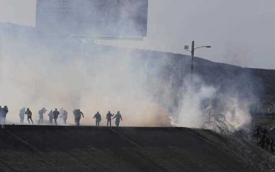 Tear  Gas And Pepper Spray On The Border: Obama Used It Almost Weekly