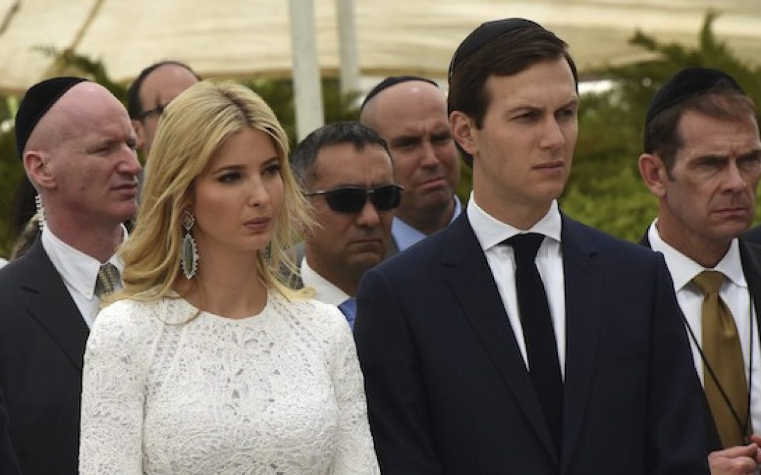 Anti-Jewish NY Times Asks If Jared And Ivanka Are Good For The Jews