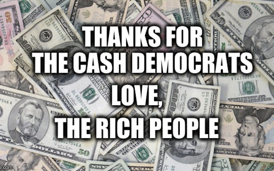 Heh! Dems Want To Give Tax Break To The Rich