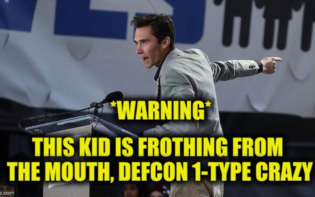 Anti-Gun Demagogue David Hogg Sends Crazy Tweet About Illegals Gets Destroyed