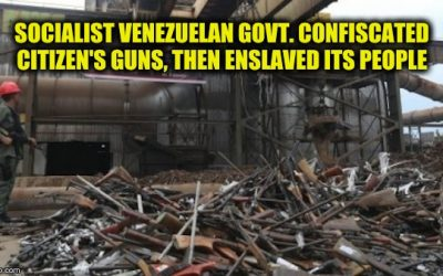 A Lesson For Americans: Venezuelan Exile Rues The Day They Let  Hugo Chavez Take Their Guns