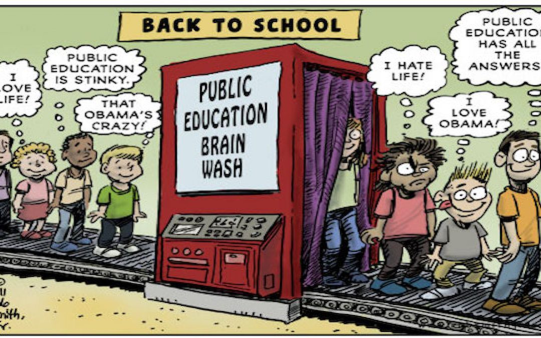 To Drain the Swamp And Defeat the Left: Pull Your Kids Out of Public Schools