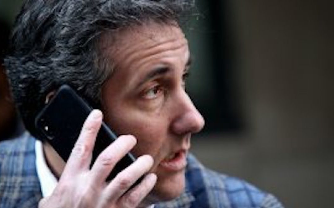 Michael Cohen's Cell Phone In Prague Story Has Huge Holes