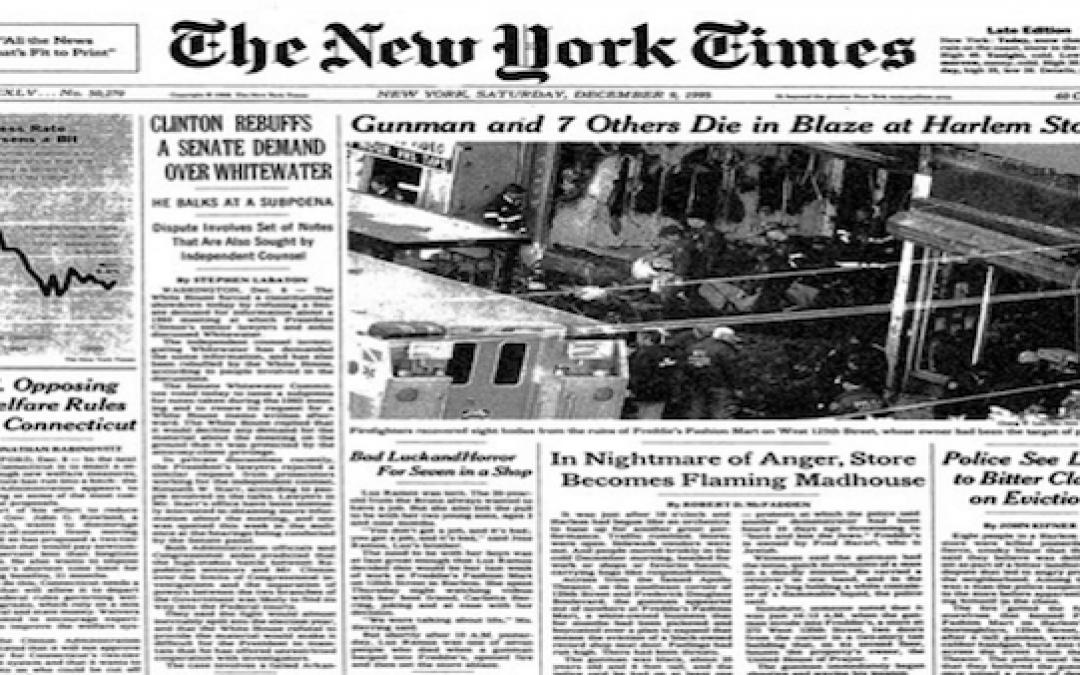 Al Sharpton's Anniversary: 23 Years Since He Incited Freddy's Massacre