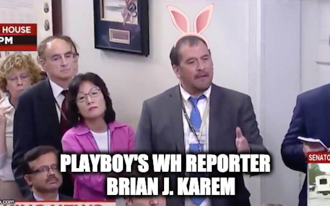 Playboy Reporter Lies, Says POTUS Not Working During Shutdown- Gets Blasted
