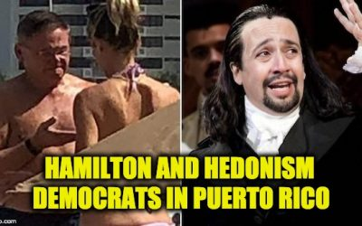 "Despite Shutdown Democrats In Puerto Rico For ""Hamilton"" And Hedonism."