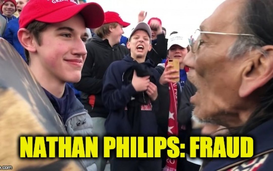 Video Proof Of Nathan Phillips' Lying  By Saying Was Vietnam Vet