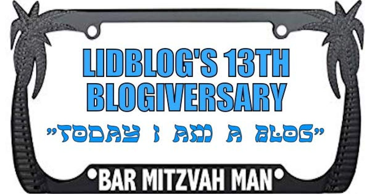 13th Blogiversary