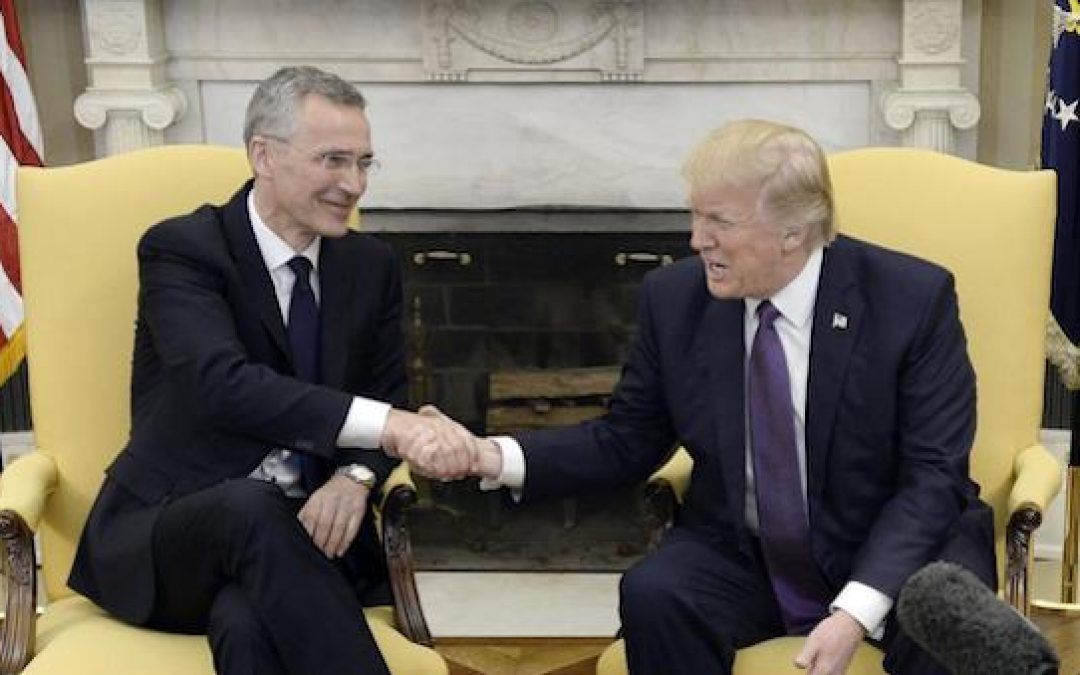 NATO Chief DESTROYS Liberal Claims, Praises Trump's Pushing Allies To Pay Up
