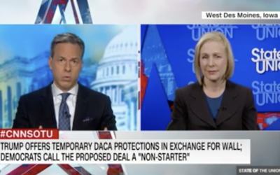 Tapper Outs Gillibrand's Immigration Deceit, She Responds With False History