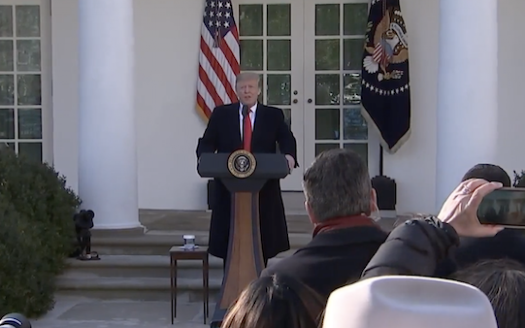 (With Video And Transcript) President Trump Capitulates