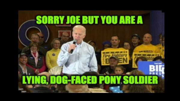 Biden lies