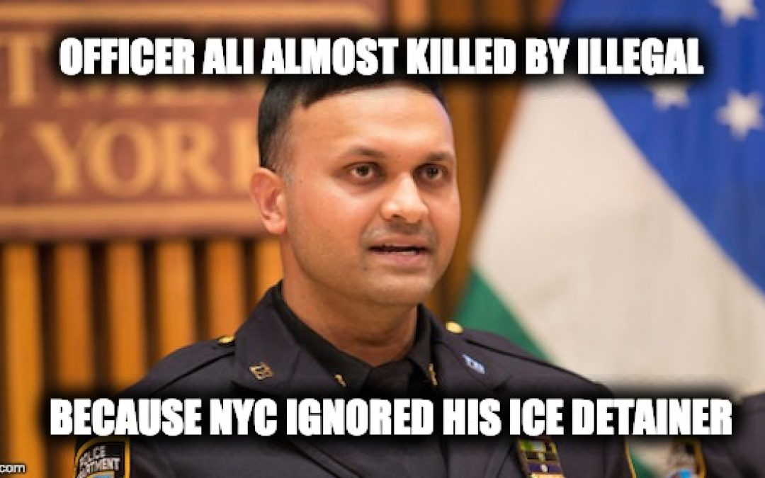 NYC Ignored Detainers On Illegal Immigrant Who Attacked NYPD Officer