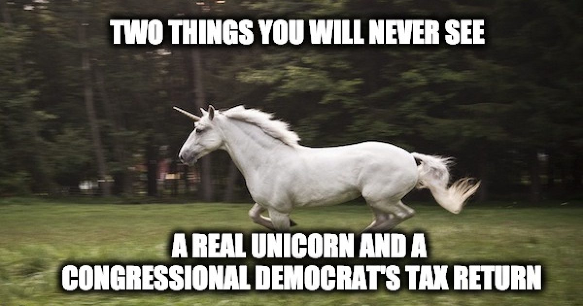 Democrats' tax returns