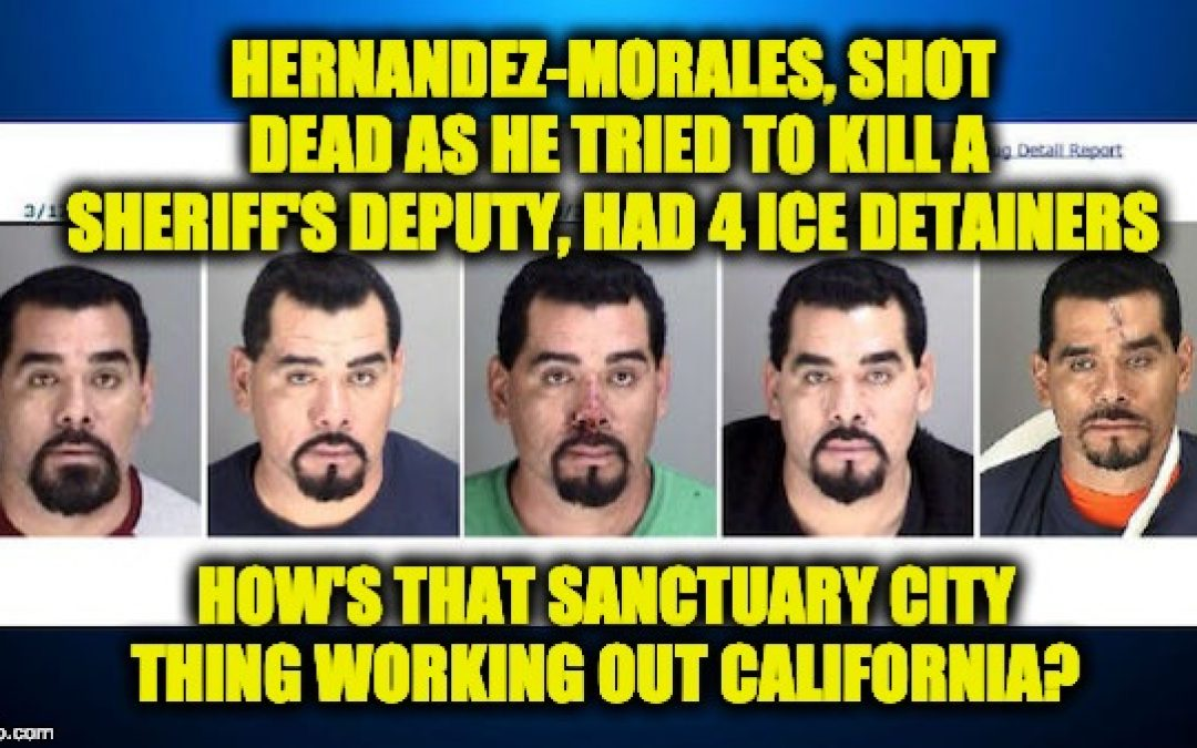 Illegal Immigrant Who Almost Killed Deputy Had Four Different ICE Detainers