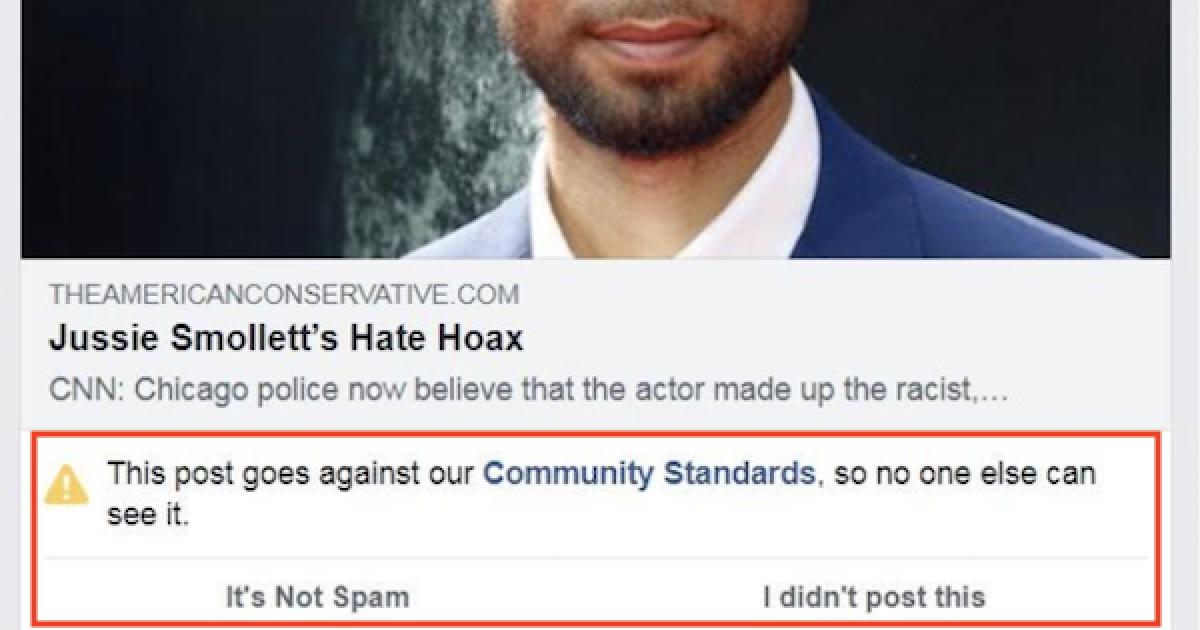Smollett hoax