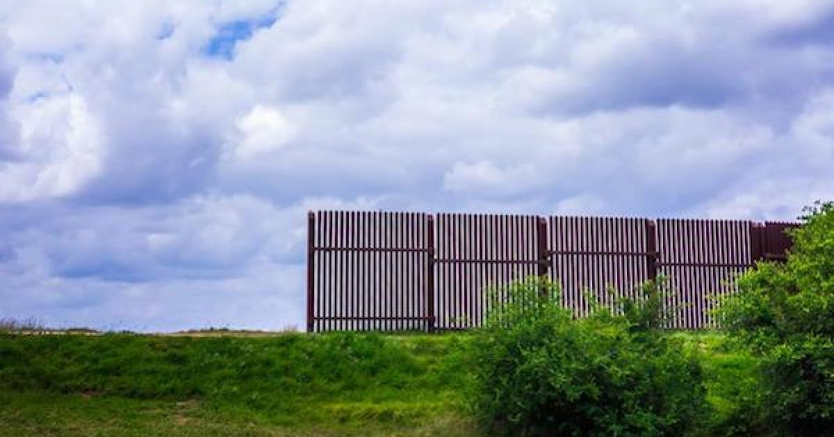 border wall started