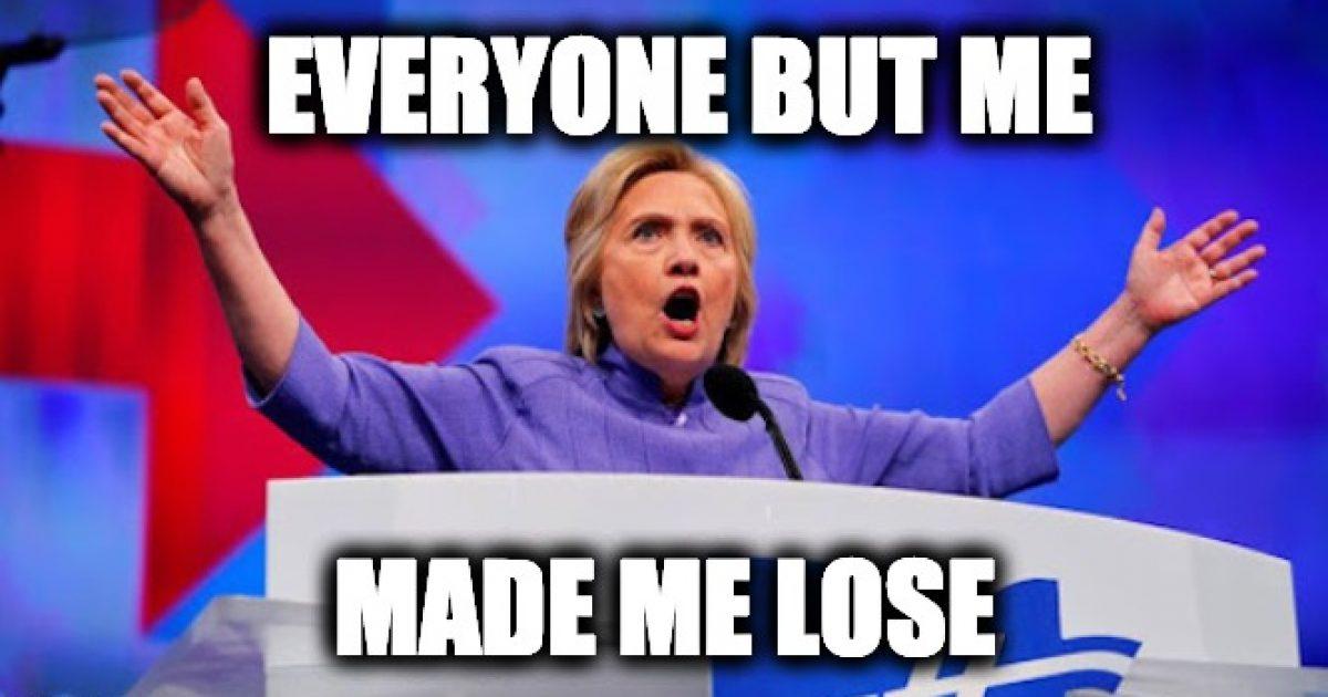 Hillary Blames Supreme Court